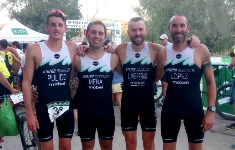 Bronce para Utrera Acuática en el campeonato de Andalucía de triatlón cross