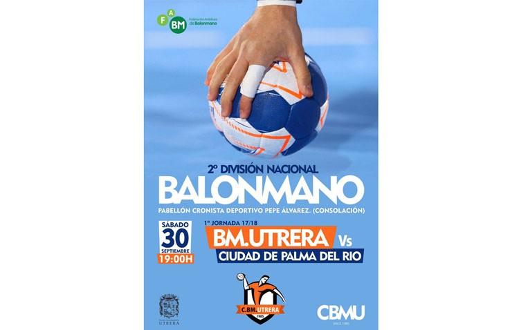 El Club Balonmano Utrera debuta en Segunda División Nacional