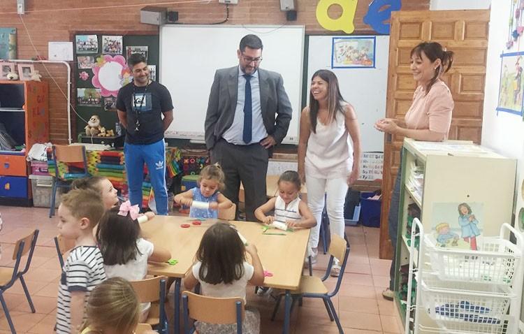 Utrera comienza su curso escolar «con normalidad y sin incidencias»