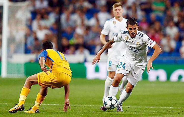Dani Ceballos cumple su sueño y debuta en Champions con el Real Madrid