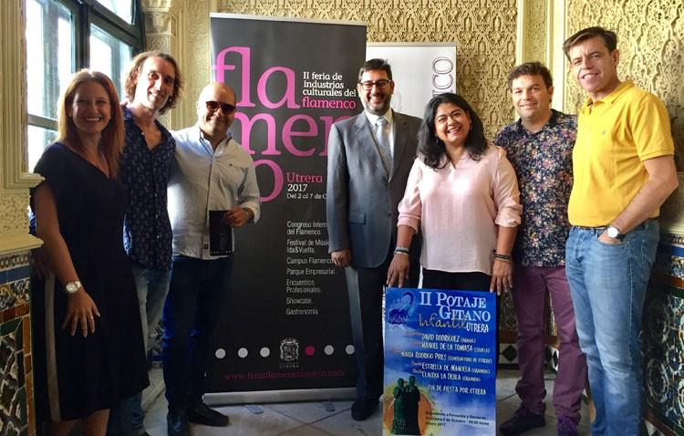 La cantaora Marina Heredia, madrina de la segunda edición de la Feria de Industrias Culturales del Flamenco de Utrera