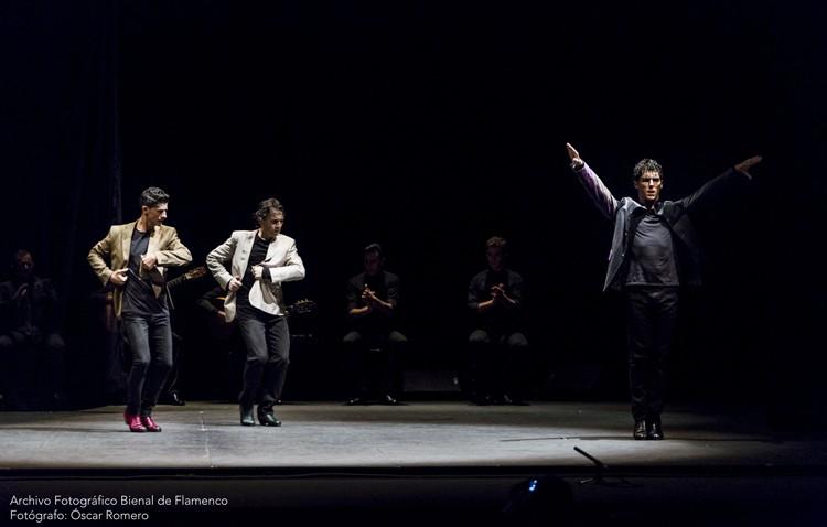 Los bailaores Javier Barón, Rafael Campallo y Alberto Sellés llegan al teatro de Utrera con «Inmanencia»
