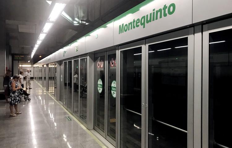 Restablecido el servicio completo del Metro de Sevilla, con las cuatro estaciones de Montequinto ya operativas