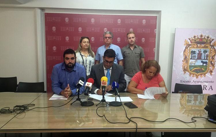 Los miembros de Afadu trabajarán en la recuperación de zonas verdes degradadas de Utrera