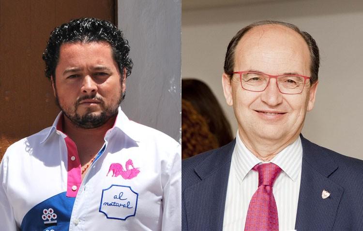 Entrega de los Mostachones de Oro a Rafael de Utrera y Pepe Castro