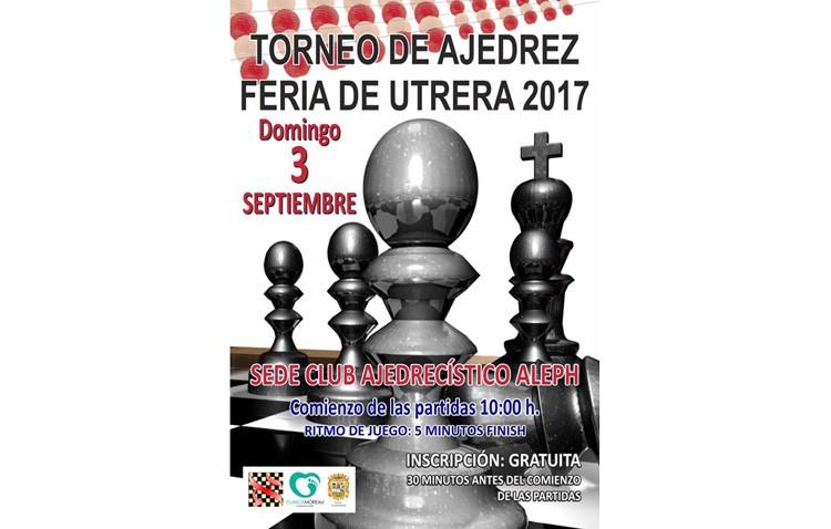El club ajedrecístico «Aleph» organiza su torneo de ajedrez «Feria de Utrera»