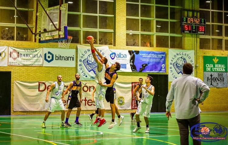 C.B. UTRERA 94 – 65 ENRIQUE BENÍTEZ: El Club Baloncesto Utrera no da opción a Huelva y sigue sin perder
