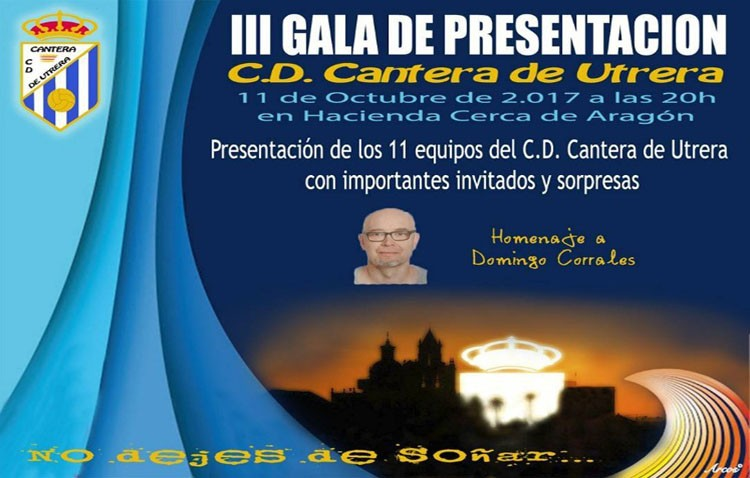 El C.D. Cantera de Utrera se viste de gala para presentar a sus jugadores