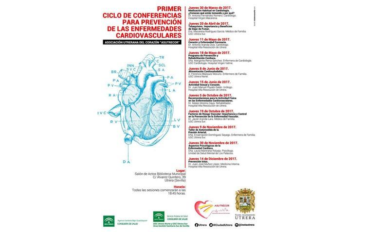 Una charla ofrecerá recomendaciones para la actividad física en las enfermedades cardiovasculares