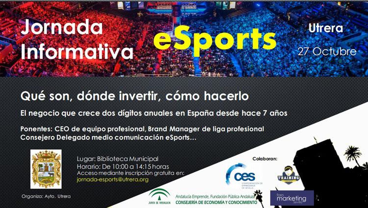 Jornada informativa sobre competiciones de videojuegos en Utrera