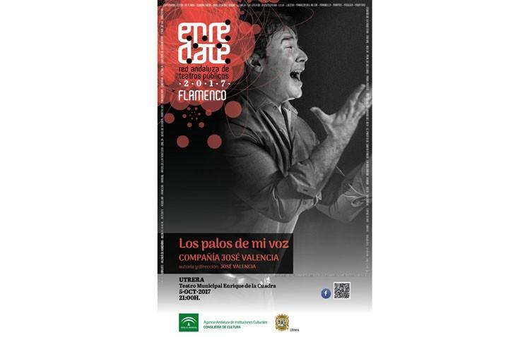 José Valencia hace parada en el teatro de Utrera con «Los palos de mi voz»