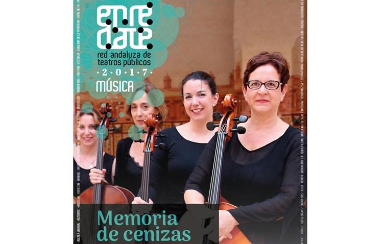 Literatura y música en la parroquia Santiago con el espectáculo «Memoria de cenizas»