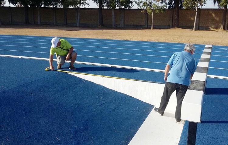 Las pistas de atletismo de Vistalegre reciben su certificado de homologación
