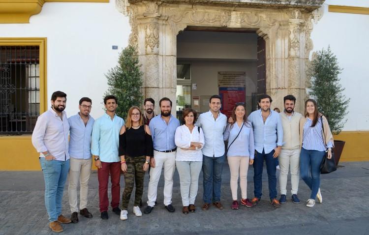 El nuevo presidente provincial de las Nuevas Generaciones del PP agradece en Utrera el «gran apoyo recibido»