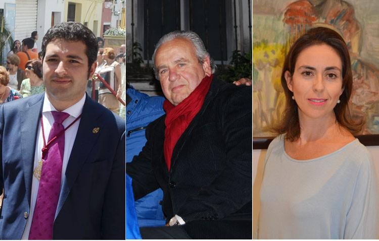 Francisco Pérez Ropero, Enrique Montoya «Candela» y María Luisa Tagua, pregoneros de 2018
