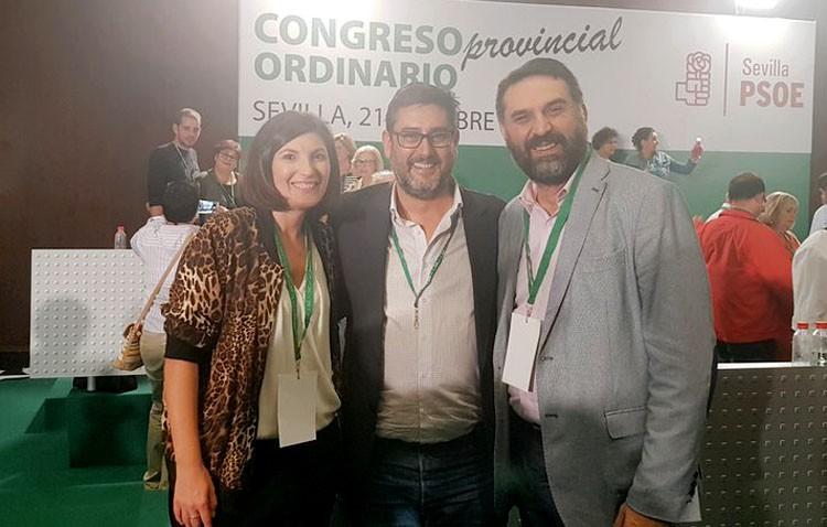 Tres utreranos en la ejecutiva provincial del PSOE