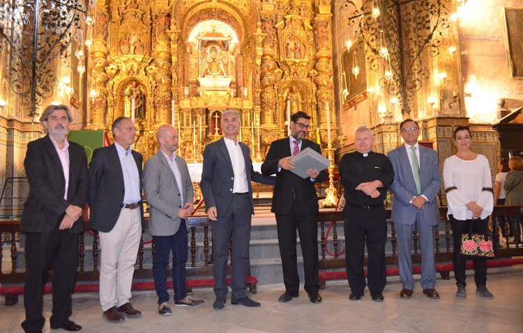 La restauración del retablo de Consolación, prevista para 2018