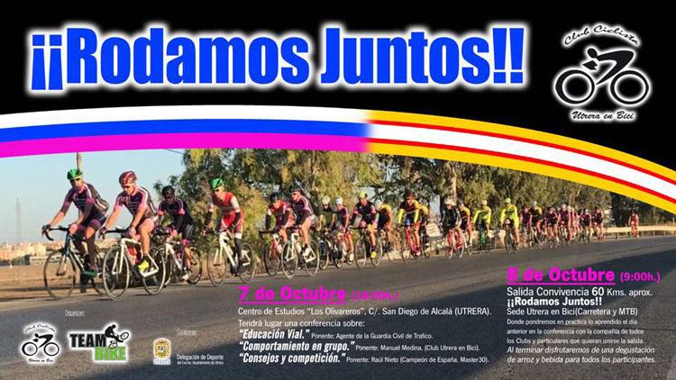El club ciclista «Utrera en bici» organiza unas ponencias sobre educación vial