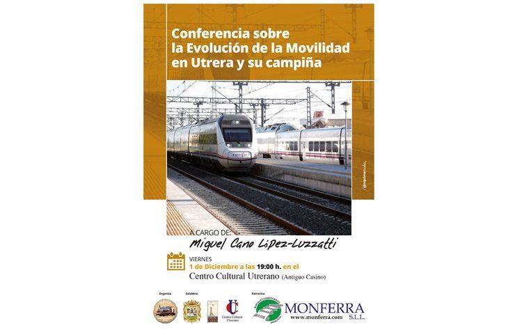 Una conferencia sobre la evolución de la movilidad en Utrera y su campiña