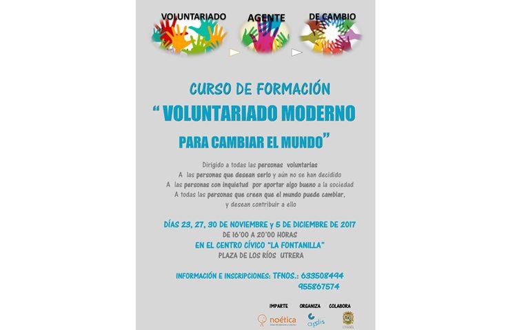 Apdis organiza un programa para la difusión del voluntariado