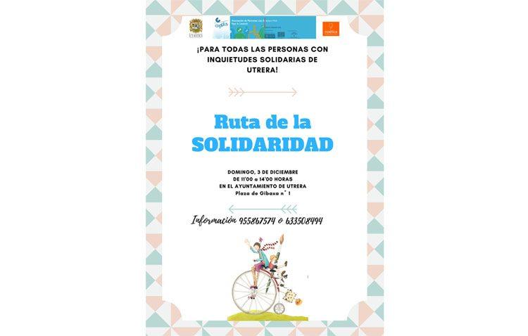 Apdis organiza una «Ruta de la solidaridad» en Utrera