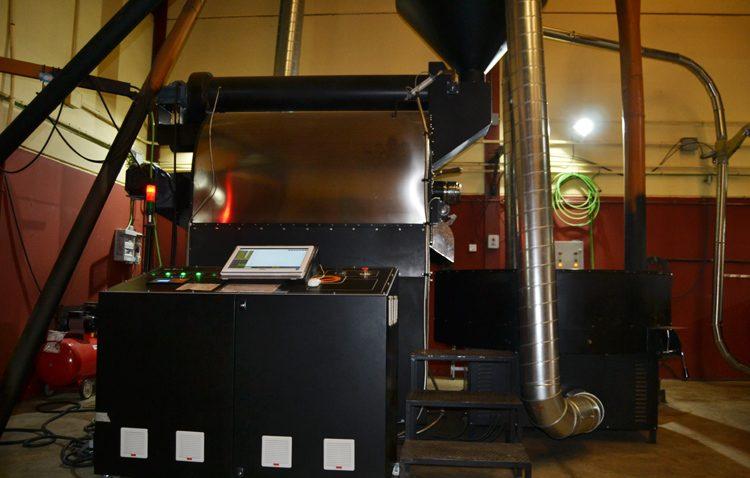 Maquinaria de última generación para Cafés Macaibo