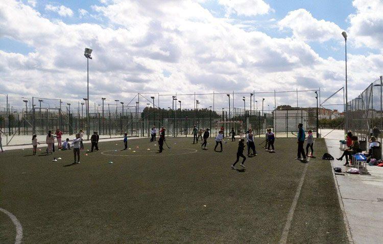 El campo de fútbol del parque del V Centenario sustituirá su césped artificial