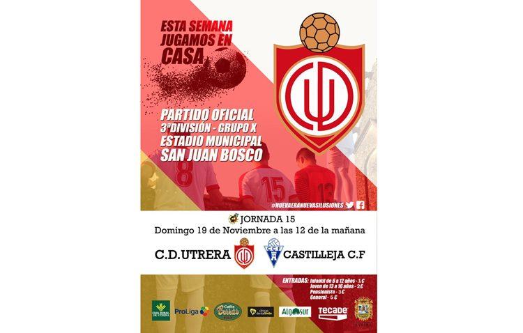 C.D. UTRERA – CASTILLEJA C.F.: Encuentro decisivo