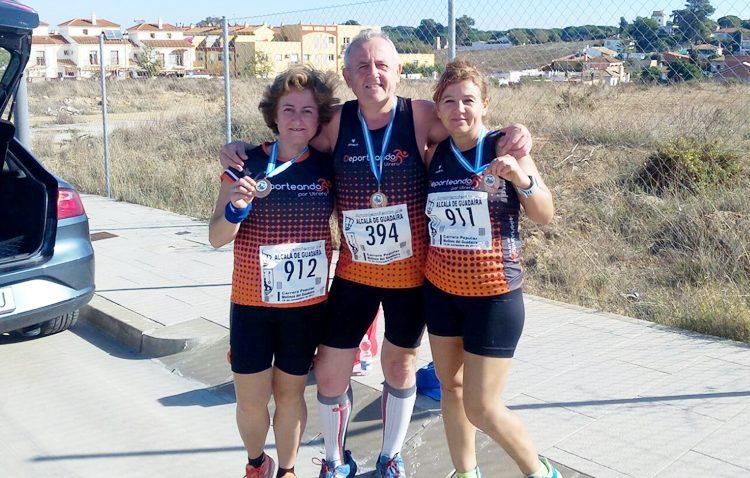 El club «Deporteando por Utrera», presente en varias competiciones