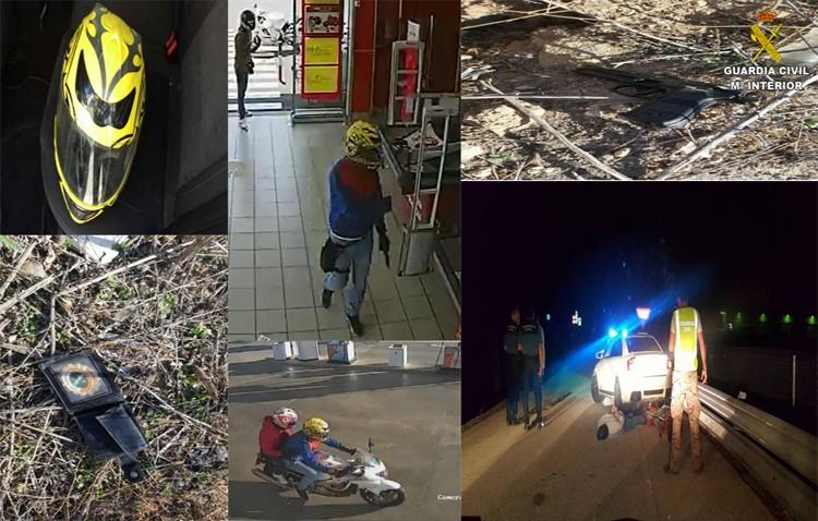 Detenidos los autores de dos atracos en gasolineras de Utrera