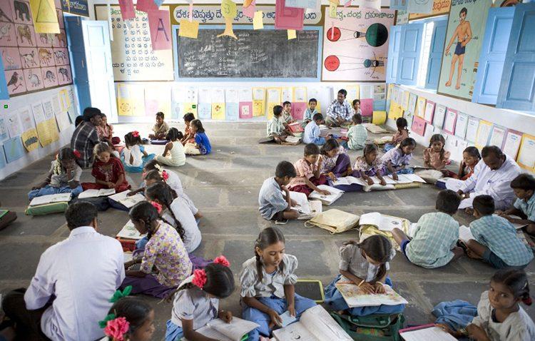 La recaudación de la marcha solidaria realizada de los centros educativos utreranos ayuda a construir una escuela en India