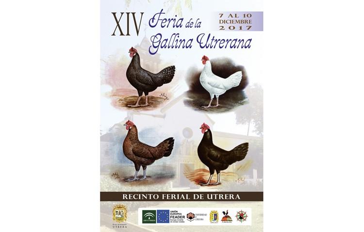 Comienza la Feria de la Gallina Utrerana, que expone los primeros ejemplares de la recuperada variedad «blanca»