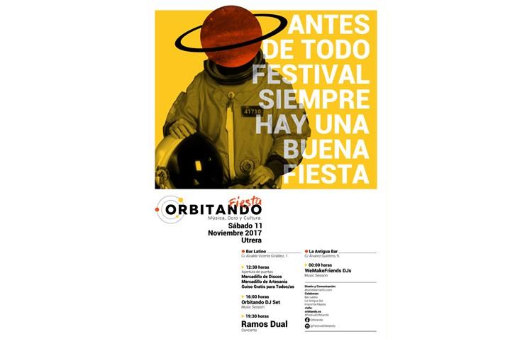 El Festival Orbitando organiza una fiesta promocional con conciertos y mercadillos
