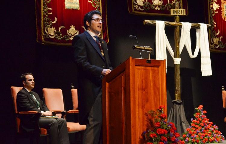 Francisco Pérez Ropero: «La Pasión de Cristo es un mensaje que impone»