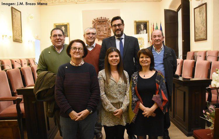 Homenaje de Utrera a cinco profesores jubilados durante el pasado curso