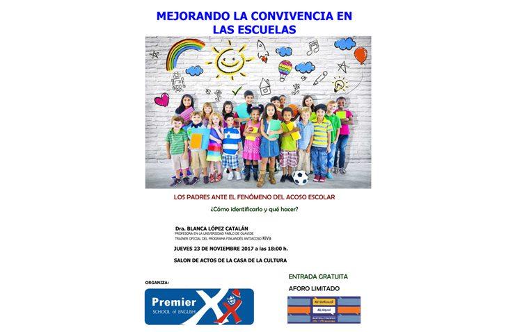 Premier School of English organiza una jornada sobre acoso escolar