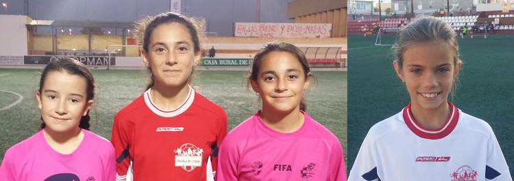 La escuela municipal de Utrera, en una jornada de fomento al fútbol femenino