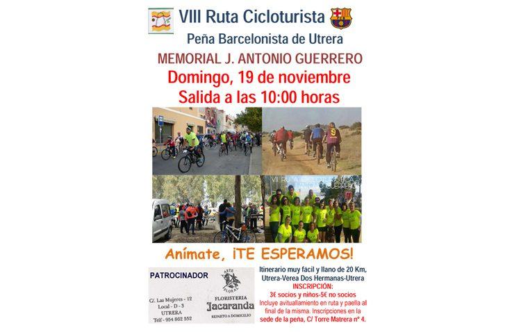 VIII ruta cicloturista «Memorial J. Antonio Guerrero»