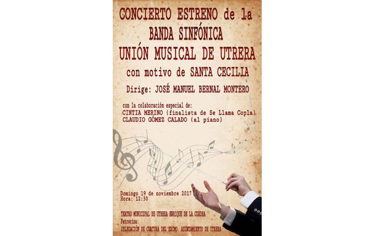 La banda sinfónica «Unión Musical de Utrera» se presenta en el teatro
