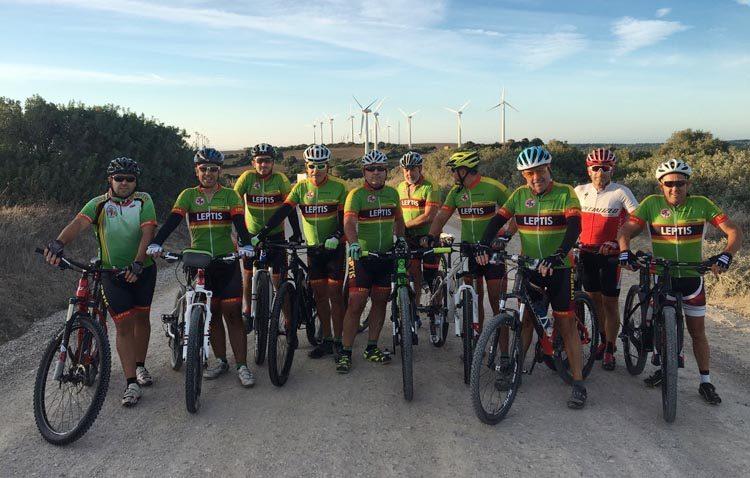 La denuncia del club ciclista utrerano «Legiones de Leptis» logra la recuperación de un sendero en Barbate