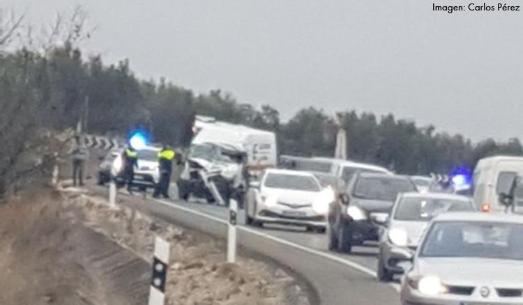 Fallece un vecino de Utrera en un accidente de tráfico en Martos