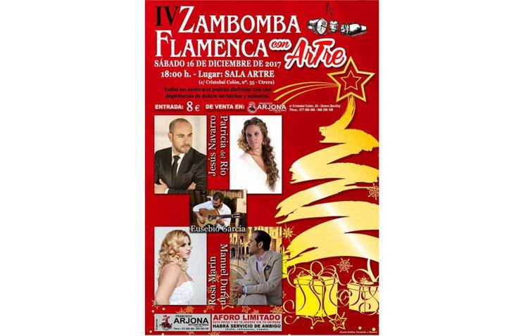 Tarde de zambomba flamenca en la sala Artre