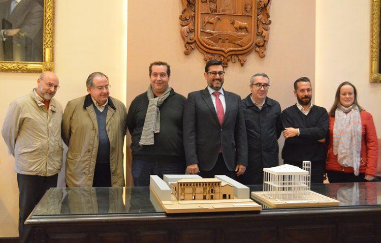 La instalación de estructuras desmontables permitirá abrir la Casa Surga para su uso cultural