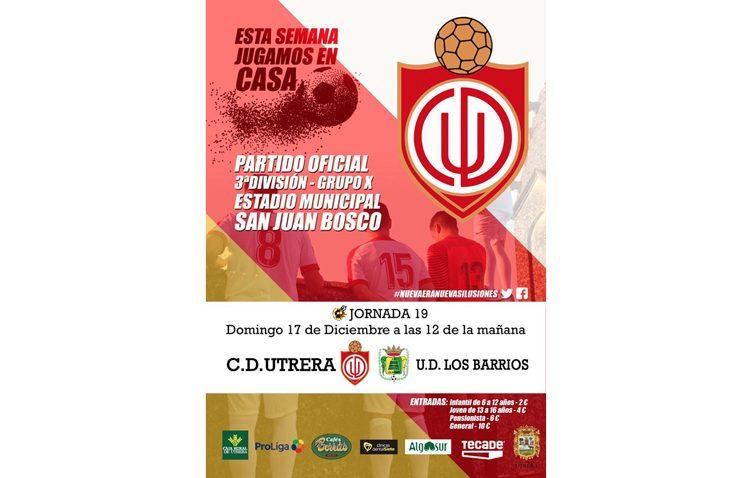 C.D. UTRERA – U.D. LOS BARRIOS: Encuentro decisivo