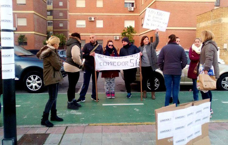El colegio Alfonso de Orleans tendrá finalmente comedor gracias a las movilizaciones de los padres