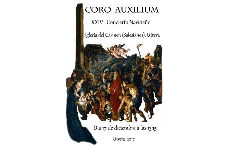 El coro Auxilium organiza su tradicional concierto navideño