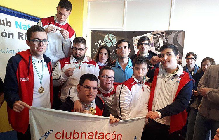 El Club Natación Utrera participa en las jornadas de natación adaptada
