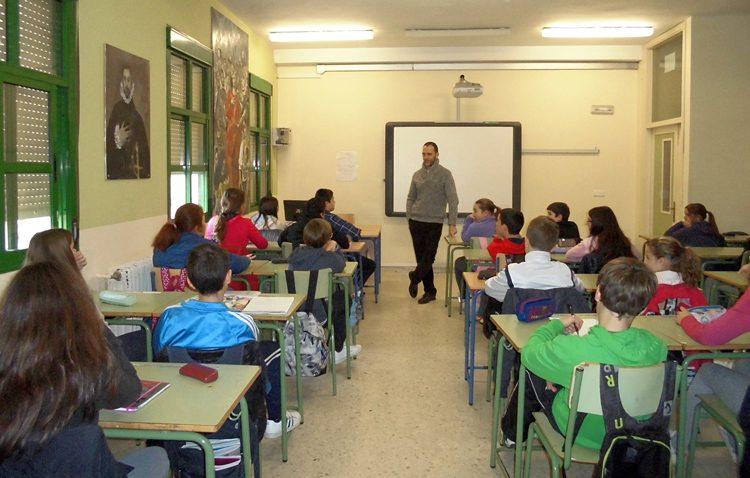 El programa de emprendimiento, desarrollo y salud para jóvenes continúa en los centros educativos de Utrera