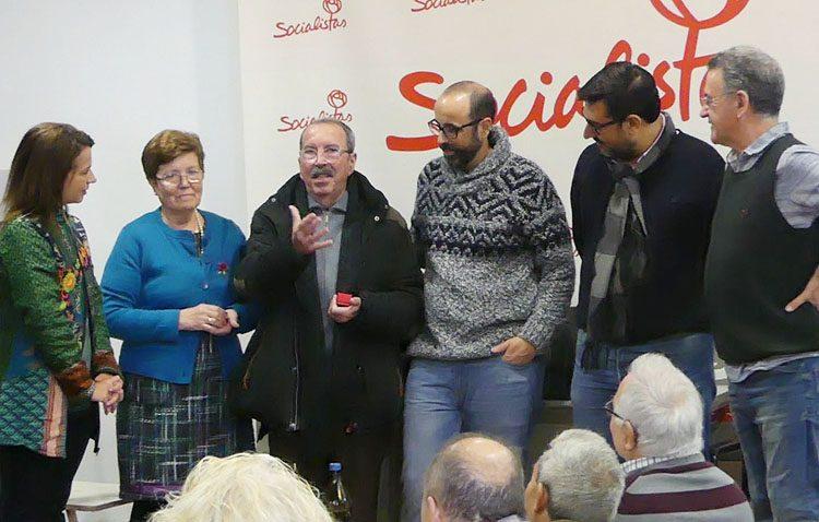 El PSOE celebra una convivencia de homenaje a dos históricos militantes