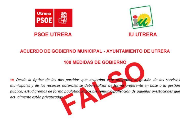 Los sindicatos denuncian la «destrucción de puestos de trabajo» por el gobierno local PSOE-IU para seguir privatizando